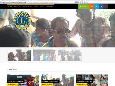 Lions Club - WordPress