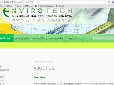 drupal site designed