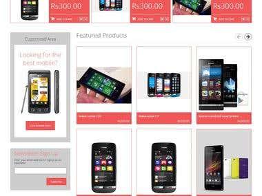Shopping Cart : eCommerce Portal