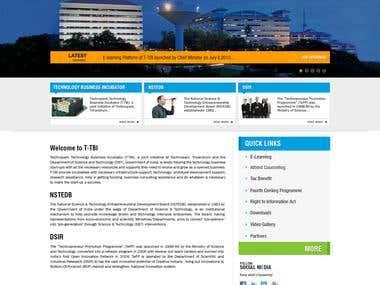 Technopark TBI website