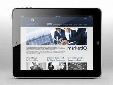 Website design for the marketing specialists in the UK