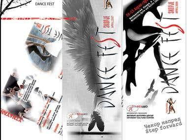 Brochures, Dance Fest Skopje