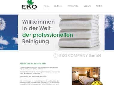 Green company website