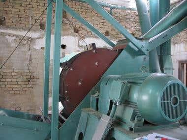 Hammer mill - produced
