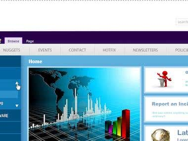 Redesigned SharePoint 2010 Master Page