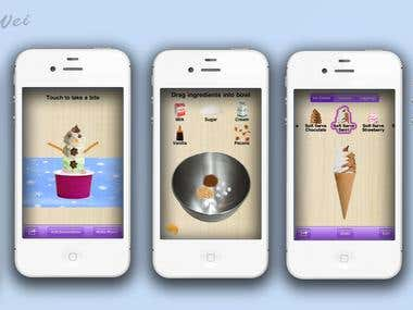 More Sundaes!  (ice-cream making app)