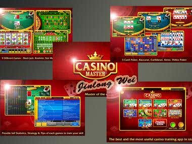 Mobile online casino game
