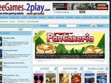 Online gaming site