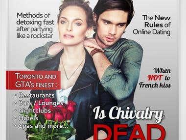 Contest winning magazine design