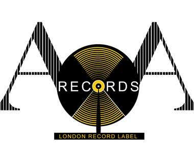 Logo for Record Label Company