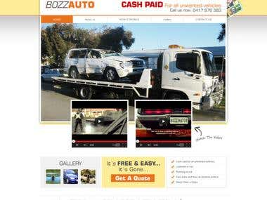 Webdesigns for bozzauto