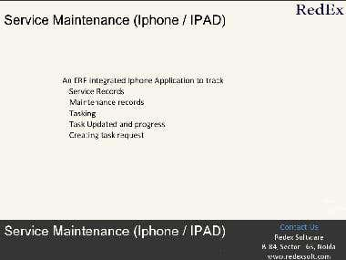 Service Maintenance (Iphone and Ipad)