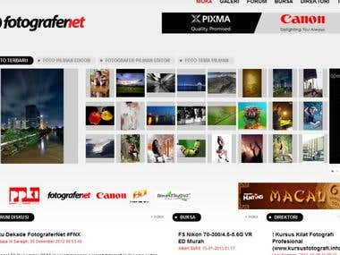 Photography Portal - Forum and Gallery