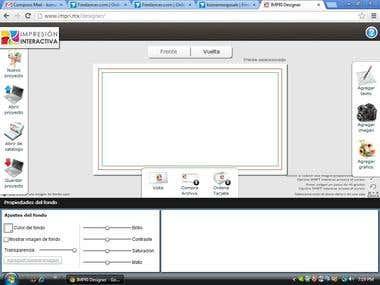 online card designer