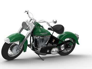 1952 Harley Davidson FL