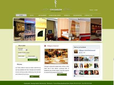 Hotel & Restaurant Website