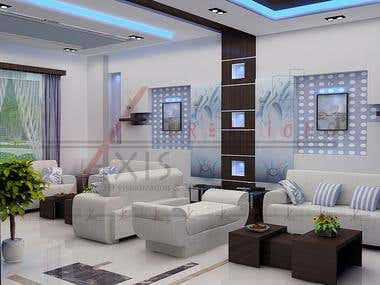 Interior Design with 3D Visualization