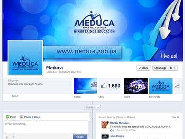 Ministry of Education - Panama |MEDUCA| Facebook Page Design