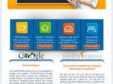 YouChooseSEO Facebook Page Design