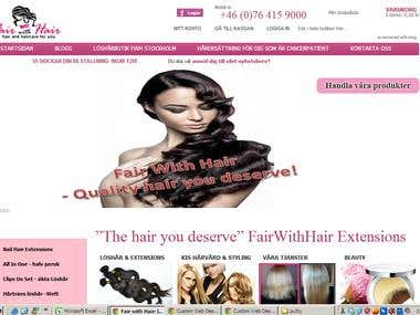 Fair With Hair - An online Store