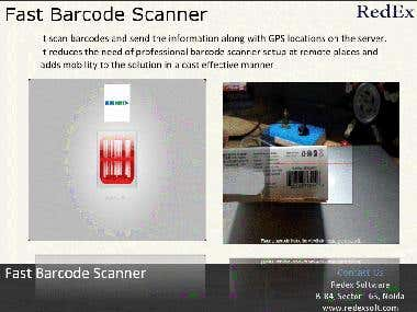 Bar Code Scanner Android App