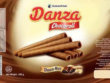 Danza Choco Roll