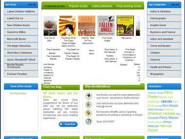 BookmeABook (A Online Book Library)