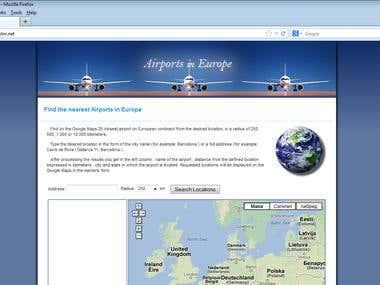 Google Maps & PHP & MySQL