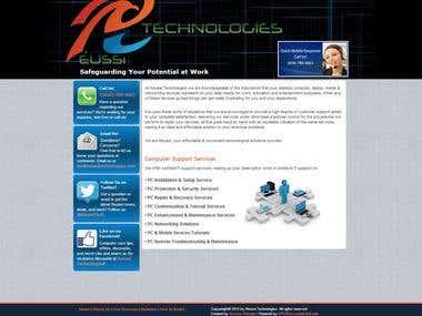 Joomla 2.5 Website
