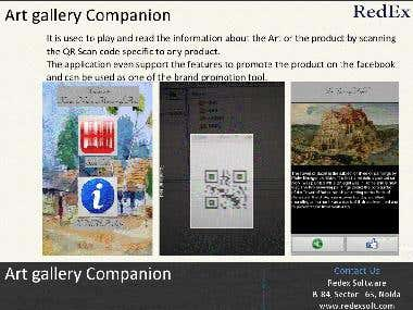 Art Gallery Companion Android app