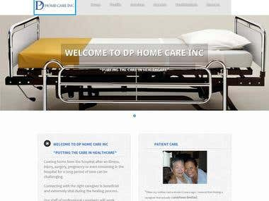 WORDPRESS HOME PAGE DESIGN