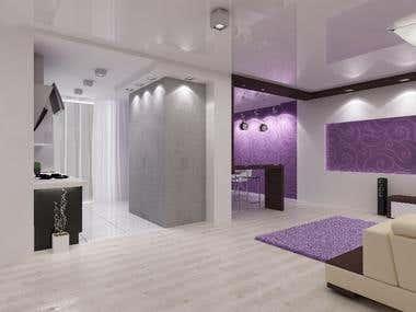 3d max Interior render