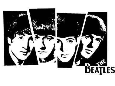 The Beatles - Stencils