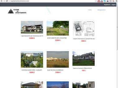Apartment exchange site
