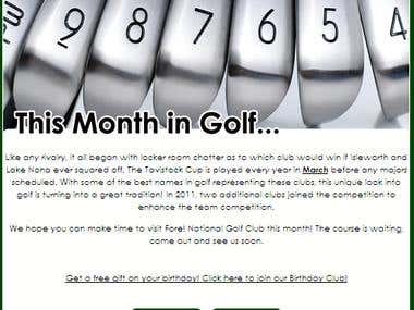This Month In Golf