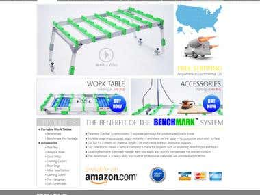 benchmarktable layouting