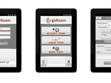 GoRoam App