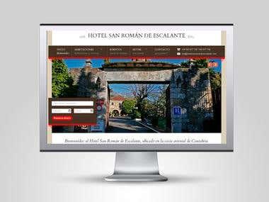 Web Hotel San Román de Escalante