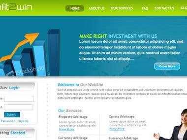 B2b oriented website