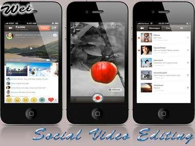 Video Editing&Sharing App ( Klip Video Sharing )