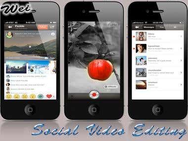Video Editing&Sharing App ( Klip Video Sharing )