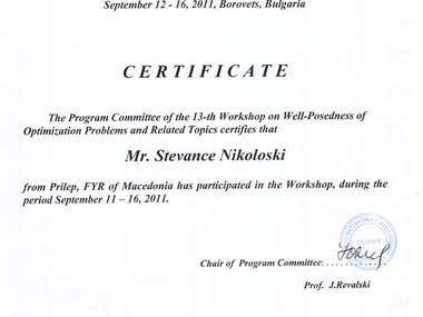 Participating on Workshop