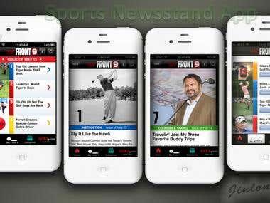 Golf Magazine App