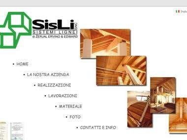 Website - Sis.Li S.N.C.