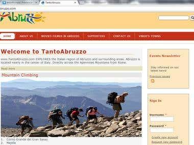 Web Application Development Online Italian Dictionary