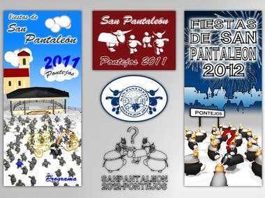 Flyer Fiestas San Pantaleón