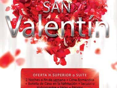 Flyer San Valentín 2013