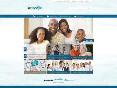 Novo site TEMPO SAÚDE