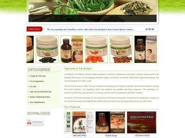 Indian client Ayurveda Medicine product