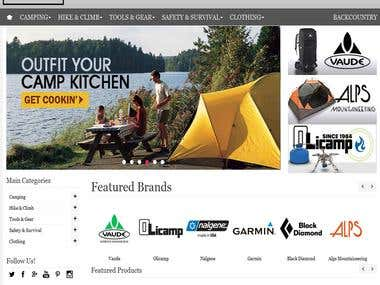 BlackPoint Outdoor (Magento)